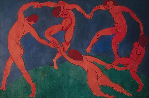 henri matisse, the dance