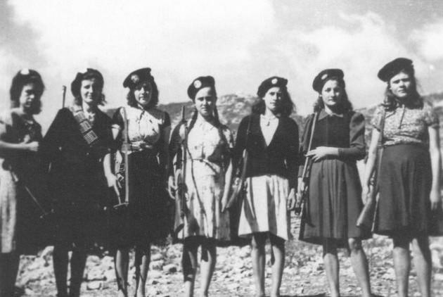 Ένοπλες επονίτισσες στην Τριφυλλία (1944)
