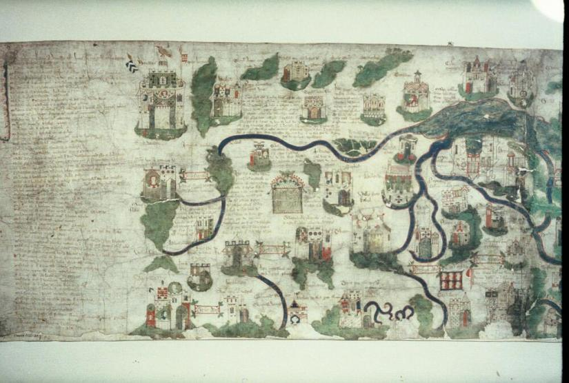 bodleian_libraries_map_of_palestine_by_william_wey-_northern_sheet_acre_to_sidon_the_river_jordan_running_southwards_into_the_sea_of_galil