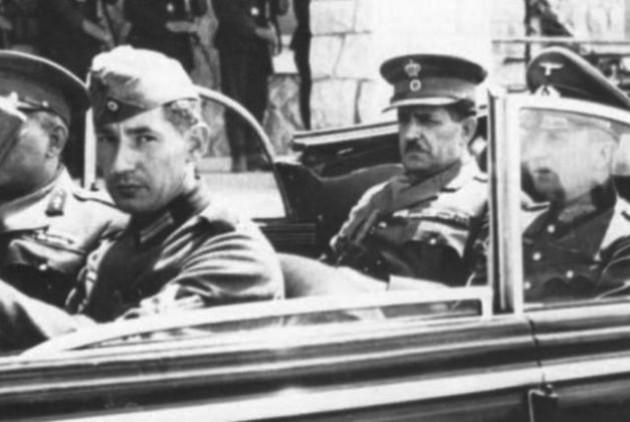 1941:Ο στρατηγός Τσολάκογλου οδηγείται στη βίλα Σωσσίδη για την τελική υπογραφή συνθηκολόγησης με τη Γερμανία