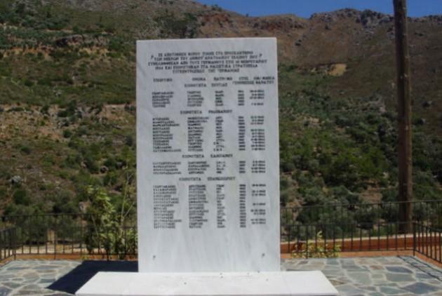 Μνημείο πεσόντων στην Κρήτη