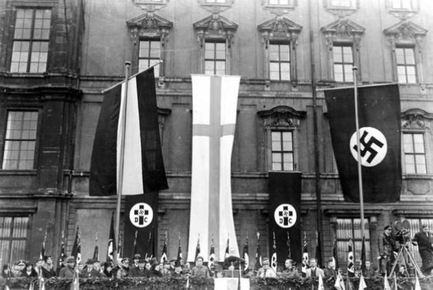 Συγκέντρωση «Γερμανοχριστανών» στη ναζιστική Γερμανία