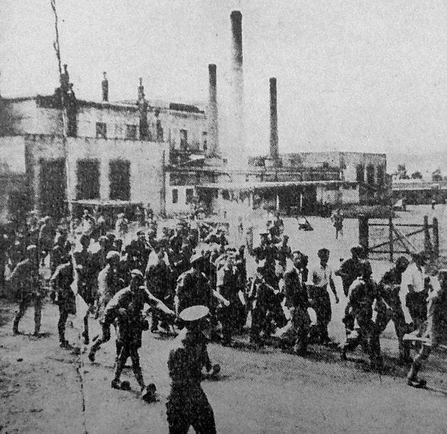 Μαζικές συλλήψεις από τους γερμανοτσολιάδες στο μπλόκο του Ζωγράφου (Αύγουστος 1944)
