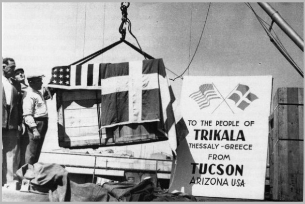 Αμερικανική βοήθεια στην Ελλάδα μετά τον Β' Παγκόσμιο πόλεμο