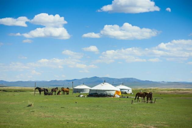 Στέπα στη Μογγολία