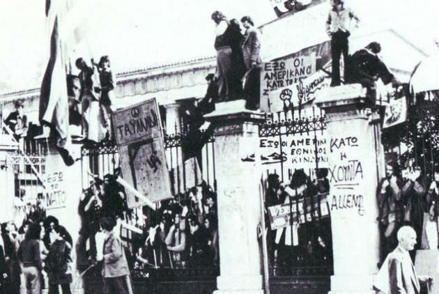 Πολυτεχνείο, Νοέμβριος 1973. Η μακρινή Ταϊλάνδη και η εξίσου μακρινή Χιλή, σημεία αναφοράς της νέας γενιάς εξεγερμένων
